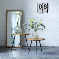 Ruben Teak Side Tables
