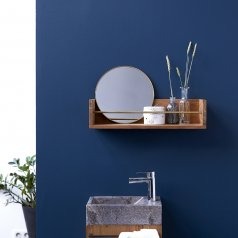 Sasha Teak Bathroom Shelf 60