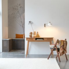 Schreibtisch aus Akazie Oslo