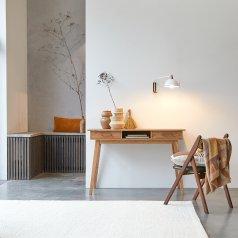 Scrivania in acacia Oslo