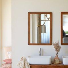 Specchio in Mogano 70x50 Loggia