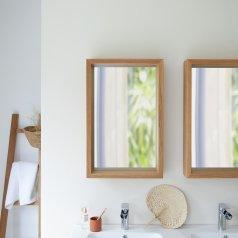 Specchio in Quercia Easy 70x45