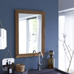 Specchio in Quercia Karl 70x50