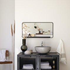 Specchio nero 80x40 Element