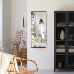 Spiegel aus Metall 110x45 Element