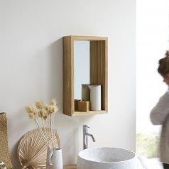 Spiegel aus Teak 55x30 Stelle