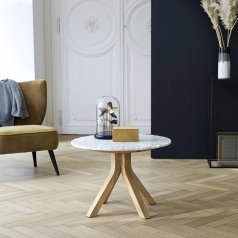 Stonecrumb Oak and Marble Coffee Table 50