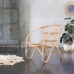 Stuhl aus Rattan Mutine natur