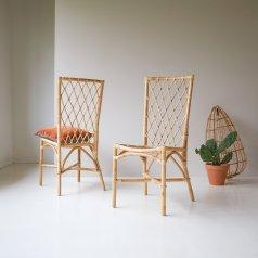 Stuhl aus Rattan Zélie