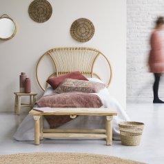 Tête de lit en rotin 90 Léontie