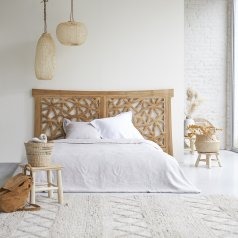 Tête de lit en teck 210 Gentong