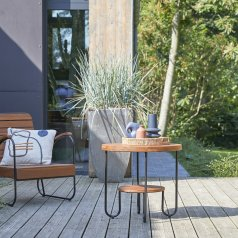 Table basse de jardin Key Wood