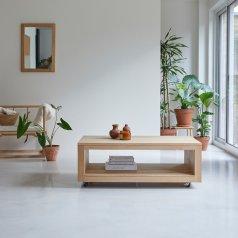 Table basse en chêne 110x60 Anoa Oak