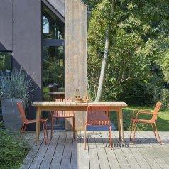 Table de jardin en teck 180 Vadim