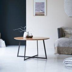 Tavolino in acacia Temis 80