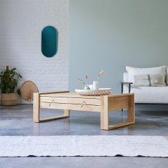 Tavolino in Teak 120x70 Minimalys