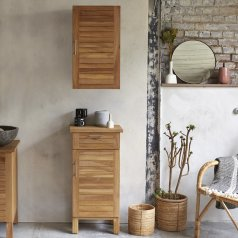 Teak Bathroom Storage Set Soho