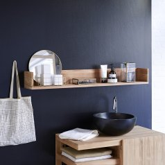Teck Arty Teak Bathroom Shelf