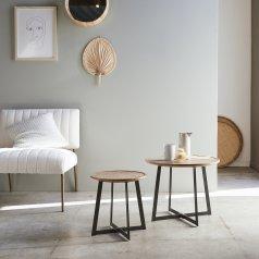 Temis acacia nesting tables