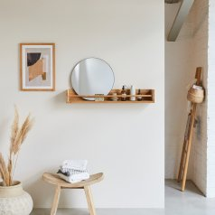 Ugo Teak Bathroom Shelf 100