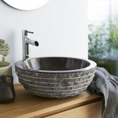 Waschbecken aus Marmor Scrula BAMORO