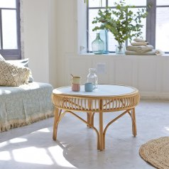 Zelie Rattan Coffee Table 70