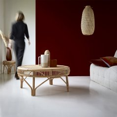 Zita rattan coffee table 90