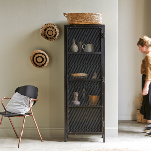 Alma metal and wire mesh dresser 60