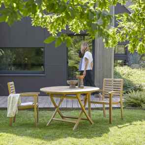Andria Round garden lounge Armchairs