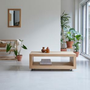 Anoa Oak 110 x 60 oak coffee table