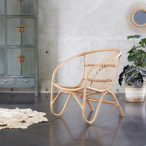 Chaise en rotin Mutine naturel