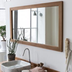 Espejo de teca Milano 140x70