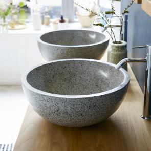 Isa Terrazzo Washbasin Grey