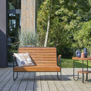 Key Wood outdoor Bench
