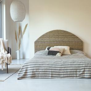 Kopfteil Bett aus Kubu 160 Louison