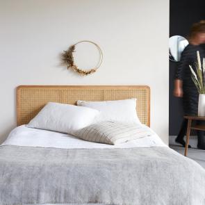 Kopfteil für Bett aus Rattan 160 Adele