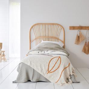 Kopfteil für Bett aus Rattan 90 Colette