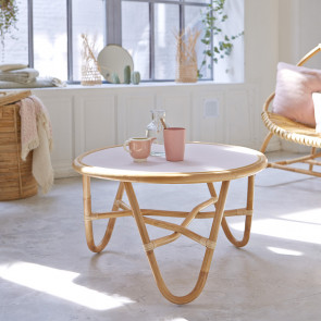 Leontie Rattan Coffee Table 70