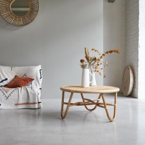 Lina rattan coffee table 80