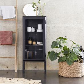 Lison Glazed Metal Bathroom Cabinet 120