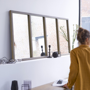 Louise Oak Mirror 160x70
