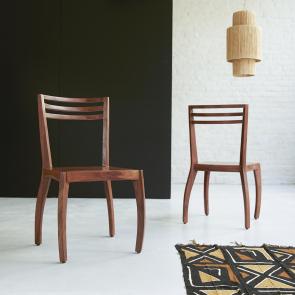 Luna rosewood chair
