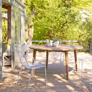 Mesa de Jardín 150 en teca Grasshopper