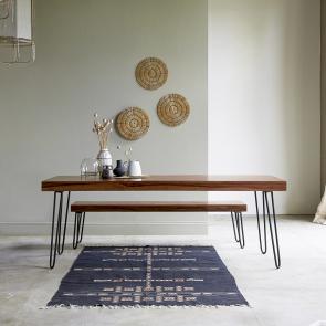 Mesa en palisandro 210x75 Helga