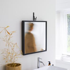 Miroir en métal 50x50 Square