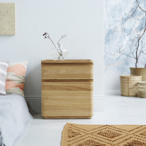 Nino Teak bedside table