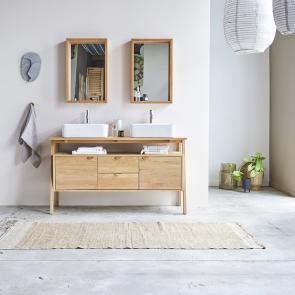 Oak vanity unit 140 Pola