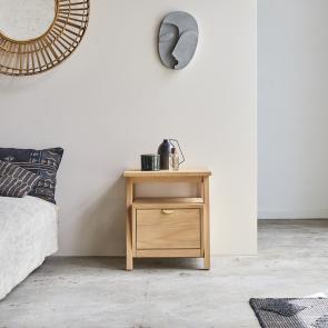 Pola oak bedside table