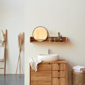 Sasha Teak Bathroom Shelf 100