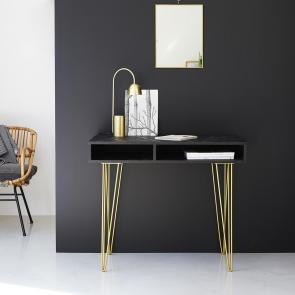 Schreibtisch aus Mangoholz Liv